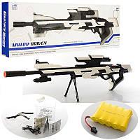 Игрушечный автомат на акамуляторе B-32, стреляет водяными пулями (орбизы) очередью, игрушечное оружие