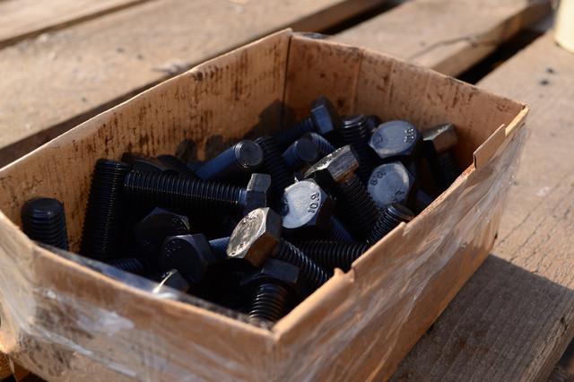 Фото болта шестигранного класс прочности 10.9 ГОСТ 7805-70