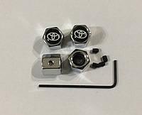 Ковпачки ніпеля Toyota чорні