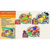 Набор для творч. KA3037/KA3038/KA3039 пластилин, 3 вида