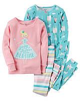 Пижамы для девочки Carters 'Фея' 12-18 мес