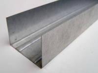 Направляющий профиль гипсокартонный UW 50/40/4м  0,55 мм