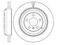 Диск тормозной MB GL-Class (X164) (09/06-) задн. (пр-во REMSA) 61031.10