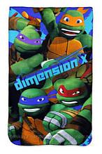 Покрывало для  мальчиков Turtles 100*150 см Венгрия.