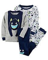 Пижама для мальчика Carters 'Монстрики' 2-3 года