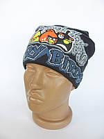 Детская шапка Angry (Синий)
