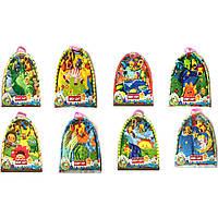 Коврик для малышей SJ777-1-8 с погремушками на дуге, в сумке