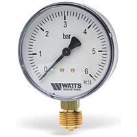 Манометр радиальный Watts F+R200 50/10