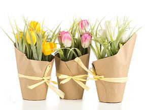Цветы и коробки декор