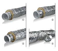 Воздуховод гибкий изолированный - теплый ММПУ 315мм
