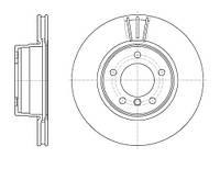Диск тормозной BMW 5 Series (E60)(E61) (07/03-) передн. (пр-во REMSA) 6653.10