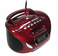 Бумбокс колонка MP3 USB радио Golon RX 627 Red