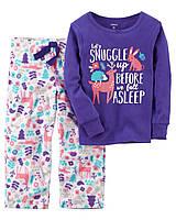 Пижама хлопок+флис Carters 'Бемби' 4-5 лет