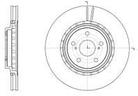 Диск тормозной TOYOTA RAV4 IV 2.0 2.2 2012-,LEXUS RX350 RX450 2008- передн. (пр-во REMSA) 61540.10