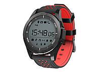 Водонепроницаемые смарт-часы (умные часы) NO.1 F3 Красно-черный