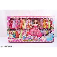 "Кукла типа ""Барби"" Q22A3  с нарядами"