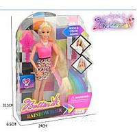 """Кукла типа """"Барби""""Парикмахер"""" 66838 расческа,набор для окрашивания волос,в кор.32*6*24см"""
