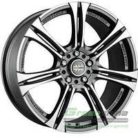 MOMO Next Matt Anthracite Polished R15 W6.5 PCD5x112 ET38 DIA72.3