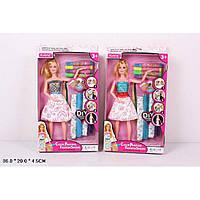 "Кукла типа ""Барби"" 901 2 вида, ""Создай сам"",с набором одежды"