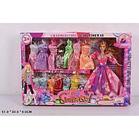 "Кукла типа ""Барби"" 225D с набором одежды"