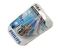 Лампа накаливания HB4 12V 55W P22d Diamond Vision 1шт blister 5000K (Производство Philips) 9006DVB1