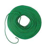 Провод тканевый немецкого производства зеленый, фото 1