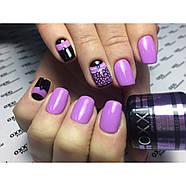 Гель-лак OXXI Professional №102 (светлый лиловый, эмаль), 8 мл, фото 2