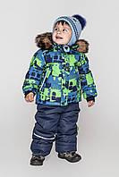 Комбенизон детский зимний Джон на мальчика на тинсулейте размеры 80- 98