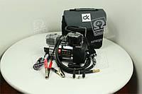 Компрессор, 12V, 10Атм, 38л/мин, автостоп, прикуриватель+клеммы  DK31-002A