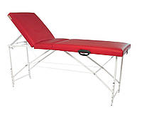 Кушетка, массажный стол Trio Premium (Красная)