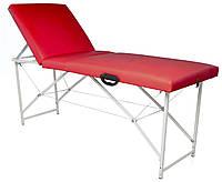 Кушетка, массажный стол Trio Lux (Красная)