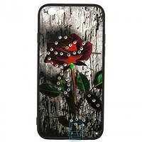 Чехол накладка Flower Case iPhone 6 Bark Rose