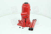 Домкрат бутылочный, 8т, красный H=200/385  JNS-08