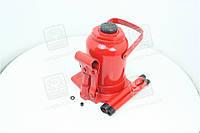 Домкрат бутылочный, 20т низкий, красный H=190/350  JNS-20F