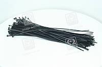 Хомут пластиковый 4.5х400мм. черный 100 штук/ упаковка  DK22-4.5х400BK