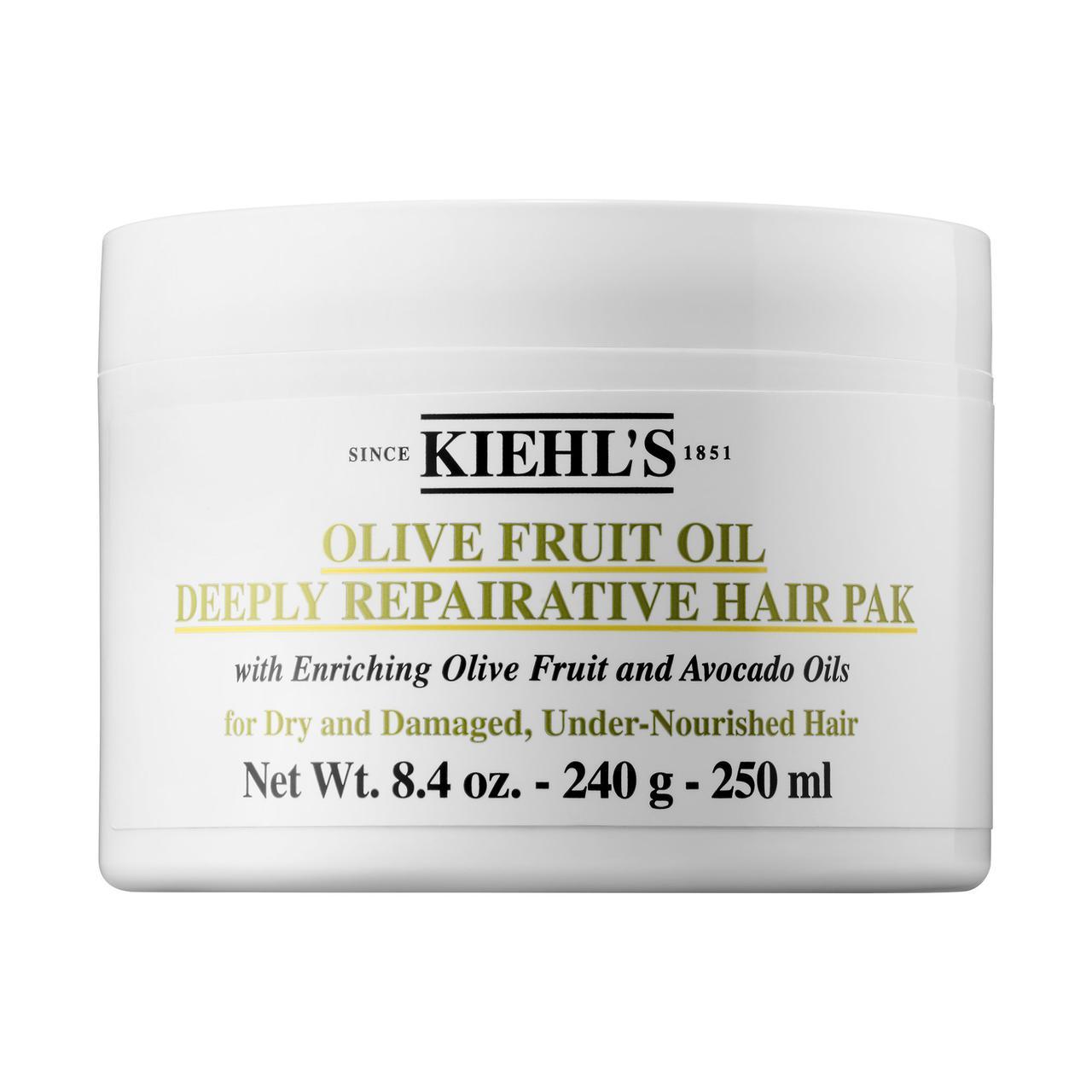 Маска для глубокого восстановления волос Kiehl's Olive Fruit Oil Deeply Repairative Hair Pak