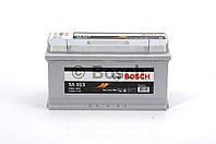 Аккумулятор 100Ah-12v BOSCH (S5013) (353x175x190),R,EN830 0092S50130, фото 1
