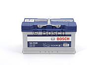 Аккумулятор 80Ah-12v BOSCH (S4010) (315x175x175),R,EN740 0092S40100