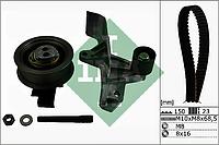 Ремень, ролики ГРМ ( комплект) AUDI,SKODA, VW (производитель Ina) 530 0546 10