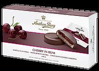 Марципан в шоколаде Anthon Berg с черешневым джемом и ромом Cherry In Rum, 220 г