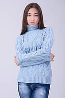 Модный вязаный свитер отличного качества
