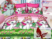 Стеганное покрывало-одеяло для детей Кошка Мэри (160х212) (Pokryvalo-012)