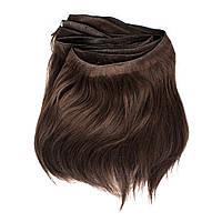 Натуральные неокрашенные славянские волосы на трессе 25 см
