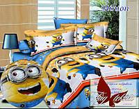 Стеганное покрывало-одеяло для детей Minion (160х212) (Pokryvalo-015)