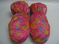 Детские непромокаемые варежки на меху, Краги (Цвет сердца)