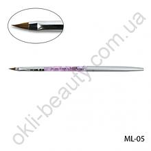 Кисть Lady Victory ML-05 - № 3 для моделирования акрилом натуральная
