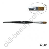 Кисть Lady Victory ML-07 - №8 для гелевого моделирования натуральная