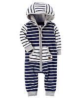 Детский флисовый комбинезон для мальчика  18 месяцев