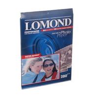 Фотобумага Lomond суперглянцевая 280г/м кв , A4 , 20л (1104101)