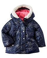 Детская зимняя курточка трансформер 4-в-одном Картерс для девочки